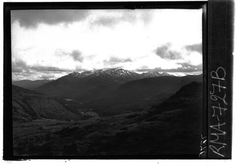 View over Glen Falloch.