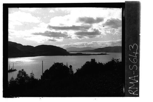 Kyles of Bute looking to Arran.