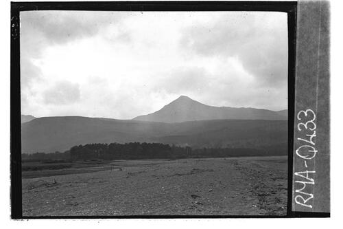 Goatfell from Brodick Bay.