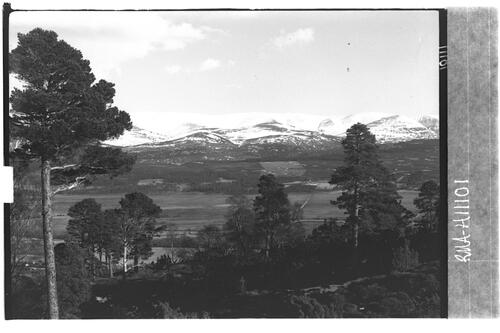 Cairngorms from Balavil.