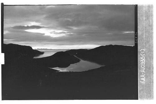 Sunset, Loch Inchard.