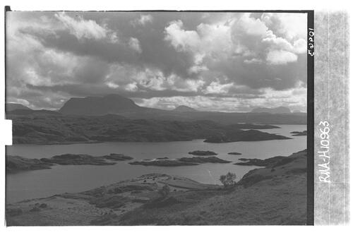 Badcall Bay and Quinag.