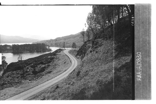 New road, Glen Affric.