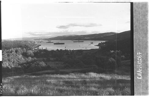 Gare Loch from Whistlefield.