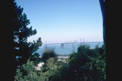 The View from Telegraph Hill, San Francisico.