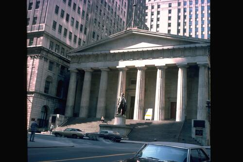 Federal Hall National Monument, New York.