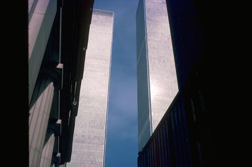 World Trade Centre, New York.
