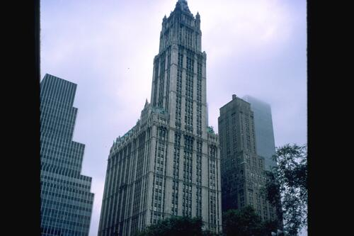 Woolworth Building, New York.