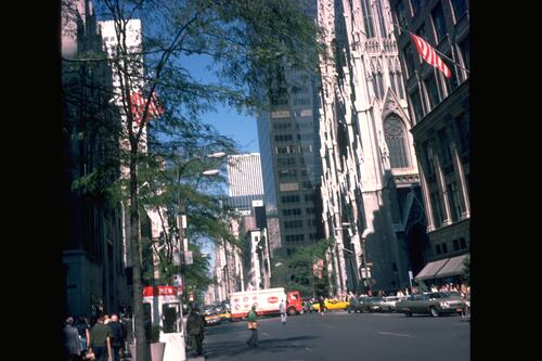 Fifth Avenue, New York.