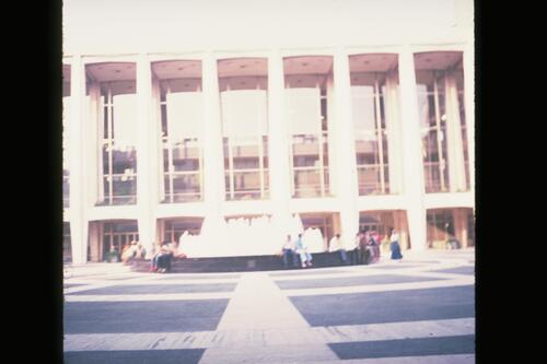 Avery Fisher Concert Hall, Lincoln Centre, New York.