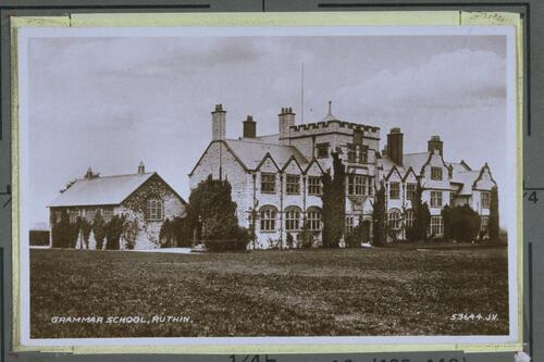 Grammar School, Ruthin.