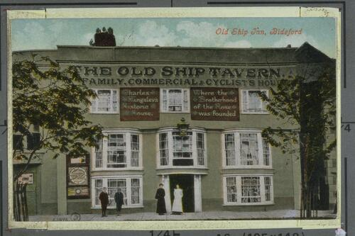 Old Ship Inn, Bideford.