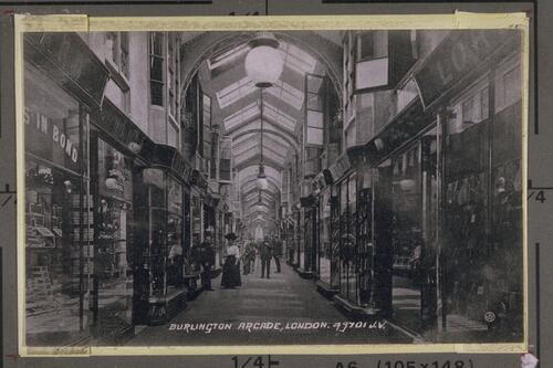 Burlington Arcade, London.