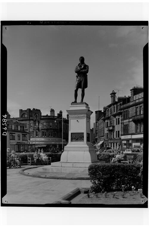 Burns Statue, Ayr.