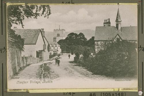 Llanfair Village.