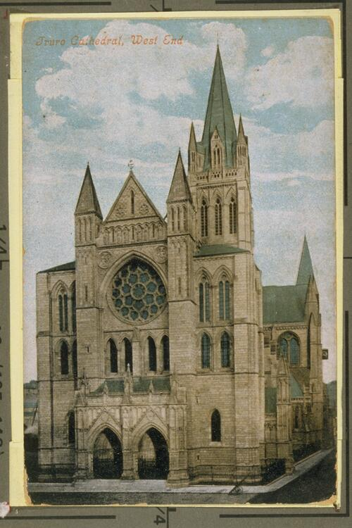 Truro Cathedral, West End.