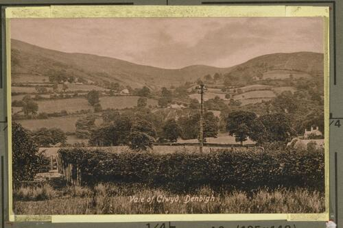 View of Clwyd, Denbigh.