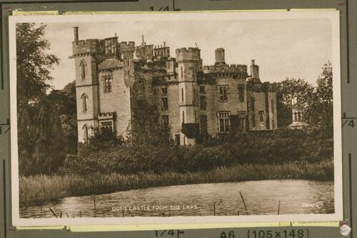 Duns Castle from the Lake.