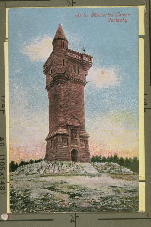 Airlie Memorial Tower, Cortachy.