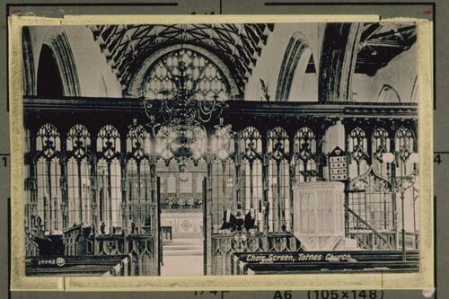 Choir Screen, Totnes Church.