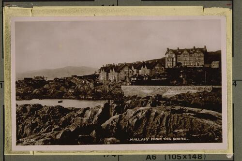Mallaig from the Shore.