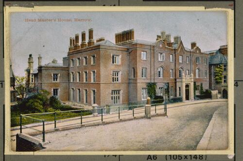 Head Master's House, Harrow.