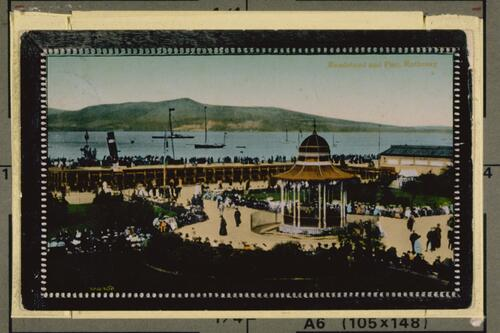 Bandstand and Pier, Rothesay.