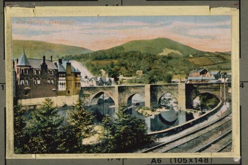 The Bridge, Llangollen.