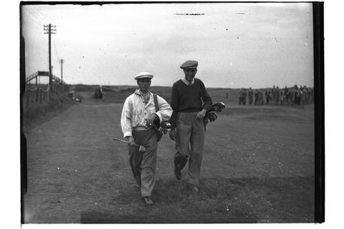 Caddies, Open Championship 1946.