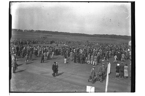 Crowds, the Open Championship, Muirfield 1935.