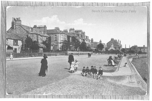 Beach Crescent, Broughty Ferry.