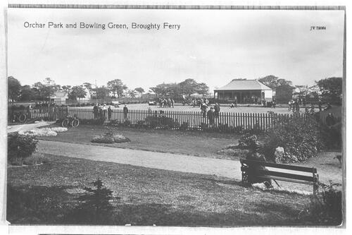 Orchar Park and Bowling Green, Broughty Ferry.