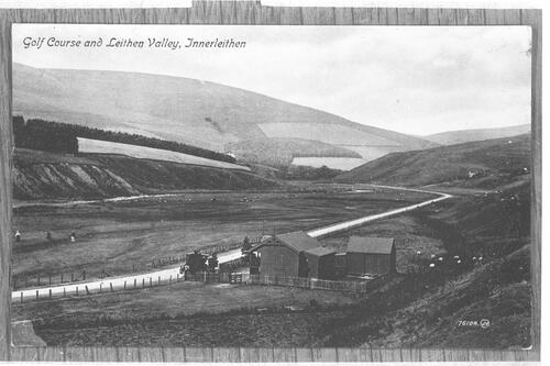 Golf Course and Leithen Valley, Innerleithen