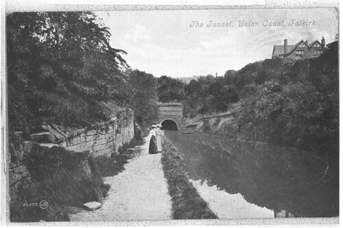 Tunnel, Union Canal, Falkirk.