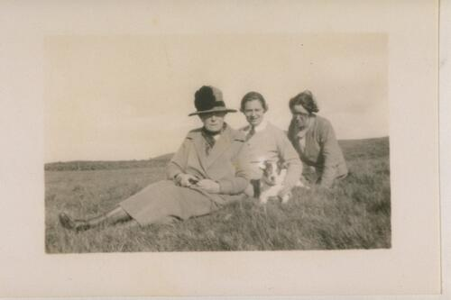 Picnic on the Lomonds - D.D., B.E.D., J.M.D, Mr P.