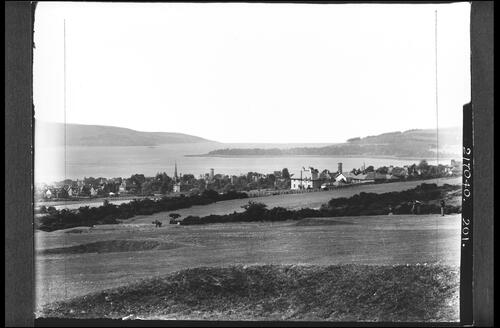 Firth of Clyde from above Helensburgh.