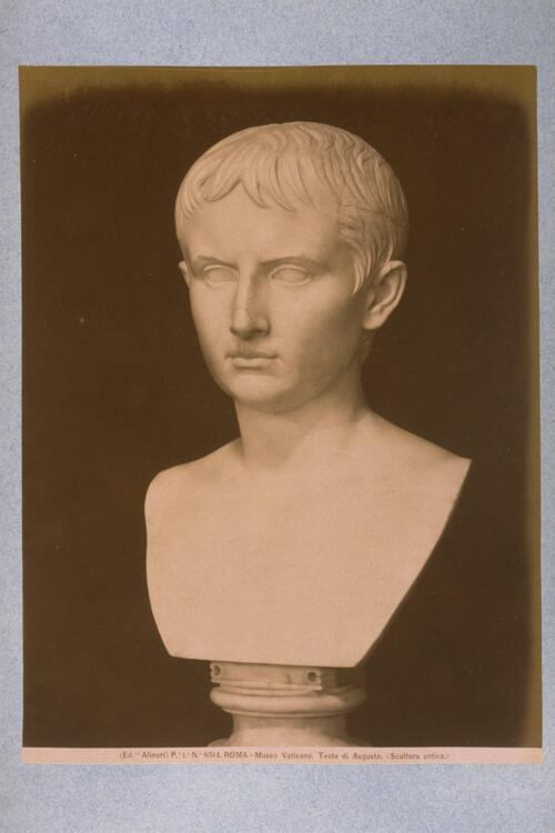 [Head of Augustus Ceasar]