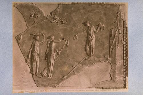 [Classical stucco relief]