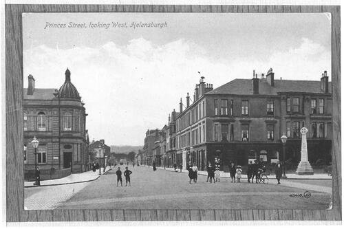 Princes Street looking West, Helensburgh.