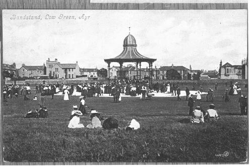 Bandstand, Low Green, Ayr.