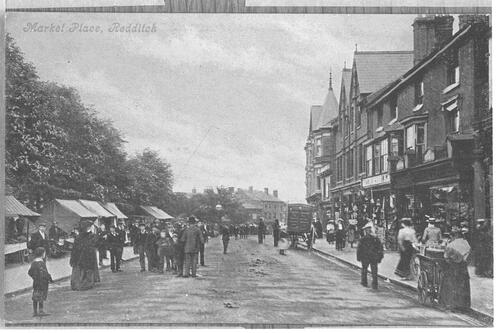 Market Place, Redditch.