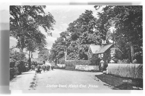 Station Road, Hatch End, Pinner.