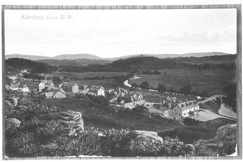 Aberfoyle from North West.