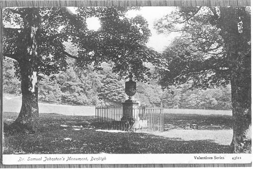 Dr Johnston's Monument, Denbigh.