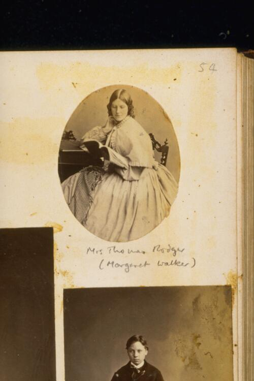 Mrs Thomas Rodger (Margaret Walker)