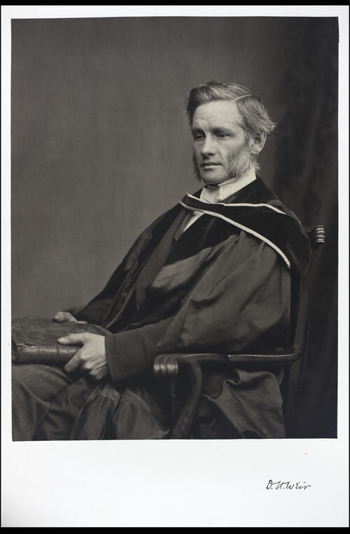 Duncan Harkness Weir, DD, Professor of Oriental Languages, [University of Glasgow] Glasgow.