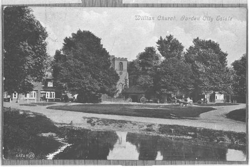 Willian Church, [Letchworth] Garden City Estate.