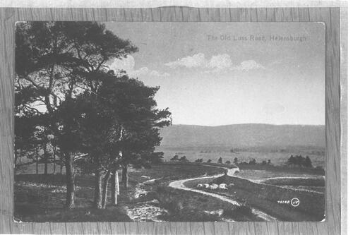 The Old Luss Road, Helensburgh.