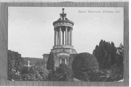 Burn's Monument, Alloway, Ayr.