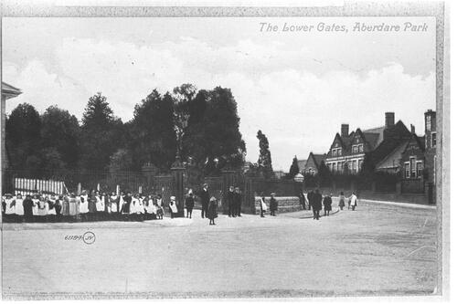 The Lower Gates, Aberdare Park.